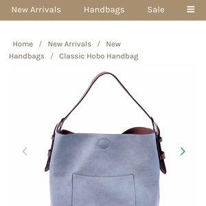 Bags - joy susan brand vegan leather hobo bag fb89e9d6a5884